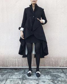 Elena Dawson AW17 Cashmere Shape Coat