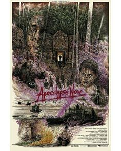 BROTHERTEDD.COM Apocalypse Now Redux, Live Events, American Horror Story, Popular Culture, Screen Printing, Artwork, Films, Prints, Poster