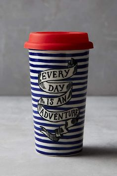 Sweet Salutation Travel Mug - anthropologie.com