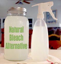 Home Made Natural Bleach Alternative