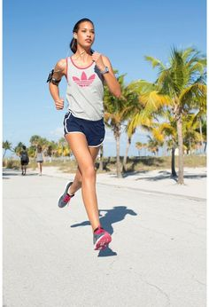 Short de deporte mujer - Cintura elástica con cordón de ajuste. - ADIDAS