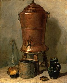 The Copper Drinking Fountain by Jean-Baptiste-Simeon.