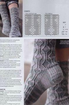 Knitted Mittens Pattern, Crochet Socks, Knit Or Crochet, Knitting Patterns, Knit Socks, Knitting Charts, Knitting Stitches, Knitting Socks, Hand Knitting