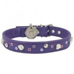 crystal and pearl dog collar