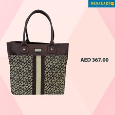Tommy Hilfiger Con Shop Tote Bag. #handbags #womens #fashion #online #shopping #brands #TommyHilfiger #bags #menakart #uae