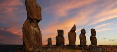 Patagonia & Easter Island: Exploring The Uttermost Ends Of The Earth Oh The Places You'll Go, Places To Travel, Places To Visit, Travel Destinations, Transformers, Statues, Les Continents, Argentine, Ends Of The Earth