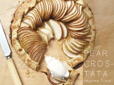 As easy as PIE, but its a crostata!I love this super easy dessert/breakfast treat. It is something you can whip up in a matter of minuets and impress anyone who happens to pop in for dinner or afternoon tea. Use whatever fruit is in season, I love this with pears, nectarines, and plums. All you...