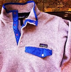 Patagonia fleece pullover - love
