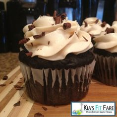 Ripped Recipes - Dark Chocolate Protein Cupcakes - The foods you eat should never make you feel guilty, they should be nourishing to your body