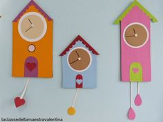 Girl Scouts, Crafts For Kids, Poster, Clock, Paper Crafts, Seasons, Tic Tac, Diy, Cards