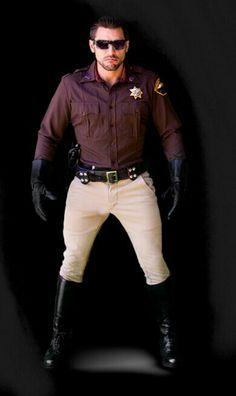 U Cop Uniform, Men In Uniform, Skinhead Boots, Leather Men, Leather Jacket, T Shirt Design Template, Hot Cops, Sexy Boots, Tall Boots