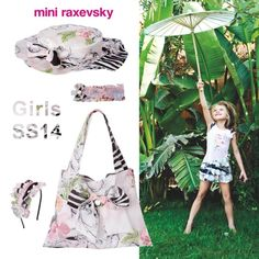 Mini Raxevsky get the look! Spring summer 2014 girls collection