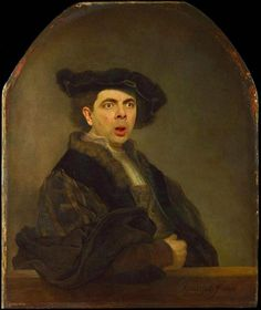 Rembrandt hijacked by Mr Bean