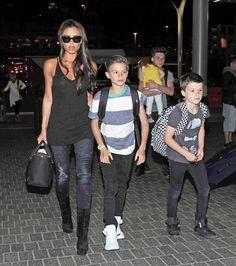 Victoria Beckham & Kids: Leaving L.A.