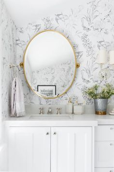 Two Bathrooms: A Kid's + A Powder | STUDIO MCGEE | Bloglovin'