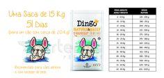 Quanto dura a tua Ração?  Ração para Cão Senior Dingo Matura & Daily na nossa loja online
