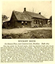 Wyckoff House, Brooklyn, New York New York Day Trip, Map Of New York, New York City, Abandoned Buildings, Abandoned Places, Landscaping Retaining Walls, New Amsterdam, Dutch Colonial, Brooklyn New York