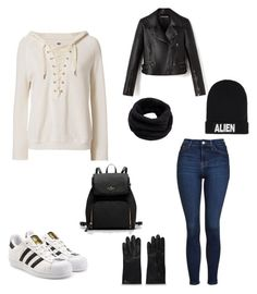 """Untitled #210"" by rekac on Polyvore featuring Topshop, NSF, adidas Originals, Helmut Lang and Nicopanda"