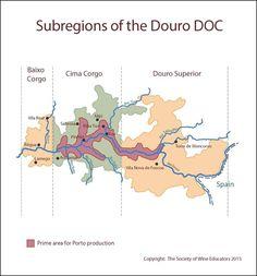Portugal's Douro region (Ports)