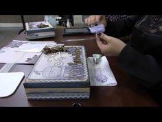 Mulher.com 29/08/2014 - Caixa com Scrap Decor por Marisa - Parte 2 - YouTube