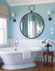 Bathroom Colors - Paint Color Schemes for Bathrooms - House Beautiful