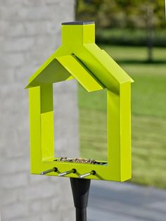 Contemporary Danish Bird Feeder - Nordic House
