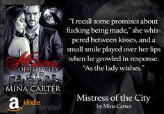 Mistress of the City by Mina Carter