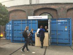 Container als cloakroom
