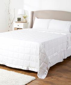Outlast Temperature-Regulating Blanket #zulilyfinds