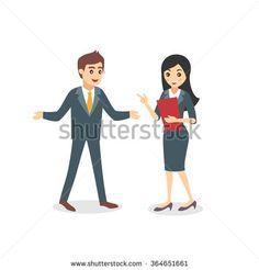 Картинки по запросу co worker man illustration