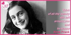 Beauty, according to Anne Frank