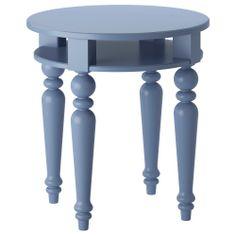 ISALA Mesa auxiliar - azul - IKEA
