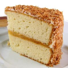 One Perfect Bite: Toasted Coconut and Lime Layer Cake