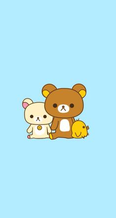 Cute rillakuma photo from wallpaper app
