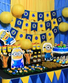 Despicable me party ideas