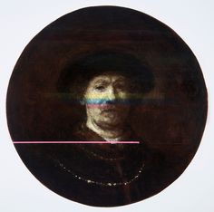 Decomposition III (after Rembrandt) Oil & beeswax on panel Ø Seán Molloy 2015 ( Courtesy of Galerie de Francony) Baroque Painting, Baroque Art, Galerie D'art, Rembrandt, History, Oil, Image, Contemporary Art, Artists