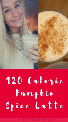 How to make a healthy pumpkin spice latte! Check out the video here.