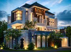 Apartment Design Exterior House Plans Ideas For 2019 Bungalow House Design, House Front Design, Modern Exterior, Exterior Design, Modern Architecture House, Architecture Design, House Plans Mansion, Modern Villa Design, Dream House Exterior