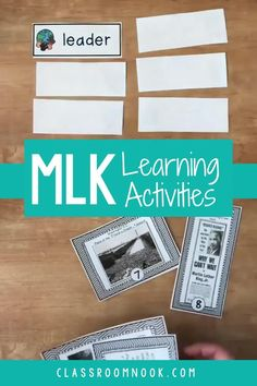 Make MLK Jr. Day meaningful in your classroom with these math and literacy activities for 3rd, 4th, and 5th grade students. This mini unit is rich in literature, based in common-core standards, and highly engaging. Includes vocabulary activities, reader's theater, book activities, math and literacy sheets, bulletin board displays, primary source activity, resource list, and MORE! Get your complete Martin Luther King Jr. upper elementary unit full of engaging activities today!
