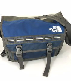 """The North Face Blue Gray 15"""" Laptop Messenger Bag Case #TheNorthFace…"""