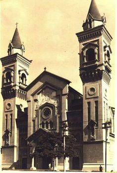 1948 - Igreja Nossa Senhora Auxiliadora no bairro do Bom Retiro.
