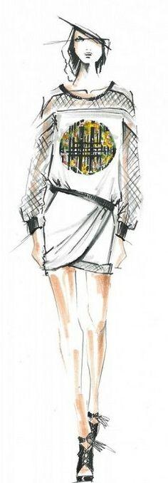 Rebecca Minkoff sketch