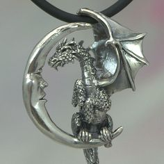 Hey, I found this really awesome Etsy listing at https://www.etsy.com/ru/listing/106268076/lunar-dragon-pendant-in-sterling-silver