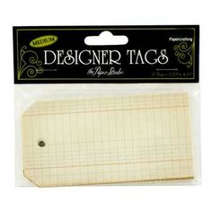 Medium Notebook Designer Tags Notebook Paper, Graph Paper, Tag Design, Scrapbook Paper Crafts, Greeting Cards Handmade, Hobby Lobby, Medium, Scrapbooks, Designer
