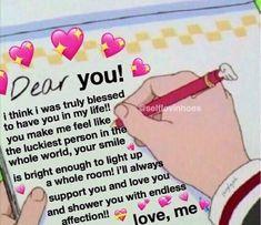 ⋆ฺ mucho amor. Memes Amor, Memes Estúpidos, Stupid Memes, Cute Love Memes, Cute Quotes, Love Memes For Him, Flirty Memes, Couple Memes, Cute Messages