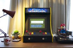 RaspberryPi two person Arcade tabletop.