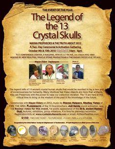 13 Ancient Crystal Skulls