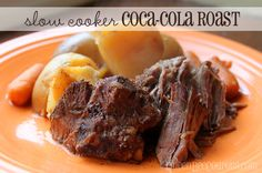 Slow Cooker Crockpot Coca-Cola Beef Roast recipe (simple) - Queen Bee Coupons & Savings