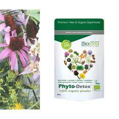 Phyto-Detox Polvo Biotona 200gr  *Biotona Bio Phyto-Detox® es una mezcla sinérgica de polvos de plantas 100% biológicas y secadas al aire libre.  Biotona Phyto-Detox®se recomienda como un aporte diario en nuestra dieta occidental, demasiado rica en grasas, o en curas desintoxicantes.