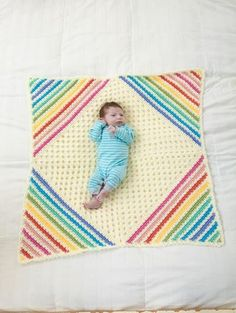 Nobody Puts Baby in the Corner Blanket---free pattern
